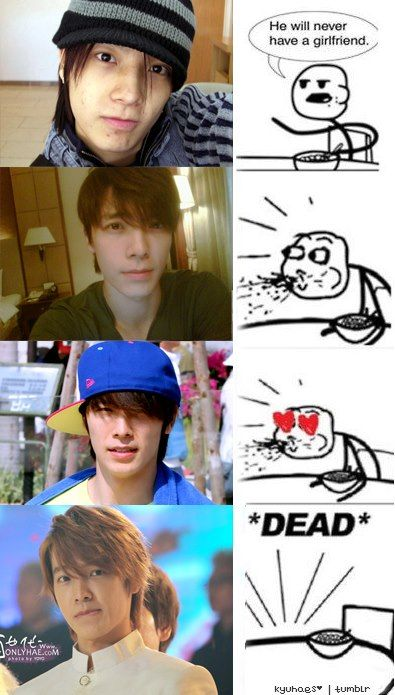The First Picture Isn T That Bad But This Is Me When Ever I See Donghae On The Floor Hearts Flying Around Super Junior Donghae Super Junior Lee Donghae