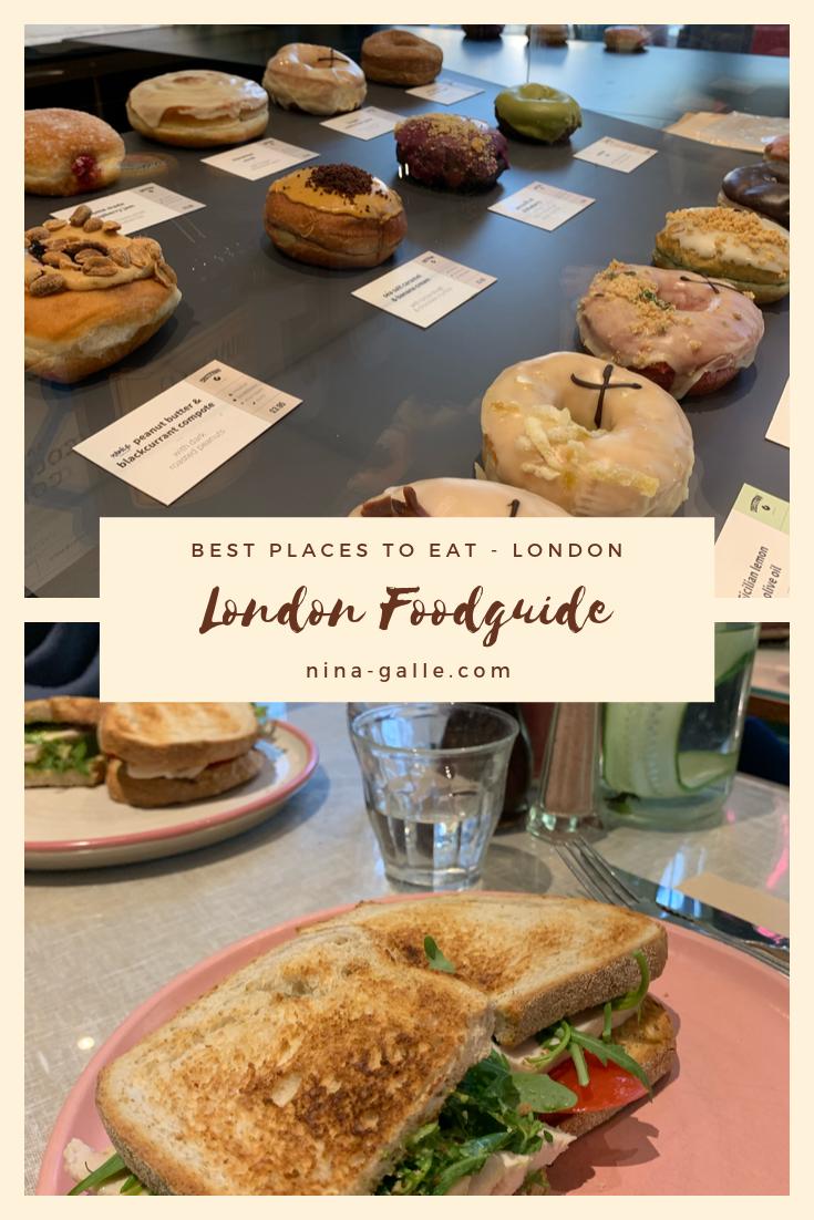 London Food Guide Essen In London Lebensmittel Essen Billiges Essen