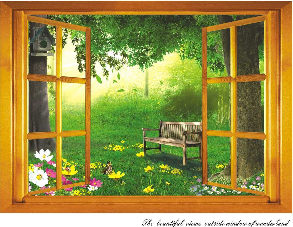 beautiful View Out Of Window painting | The-beautiful-views-out-of ...