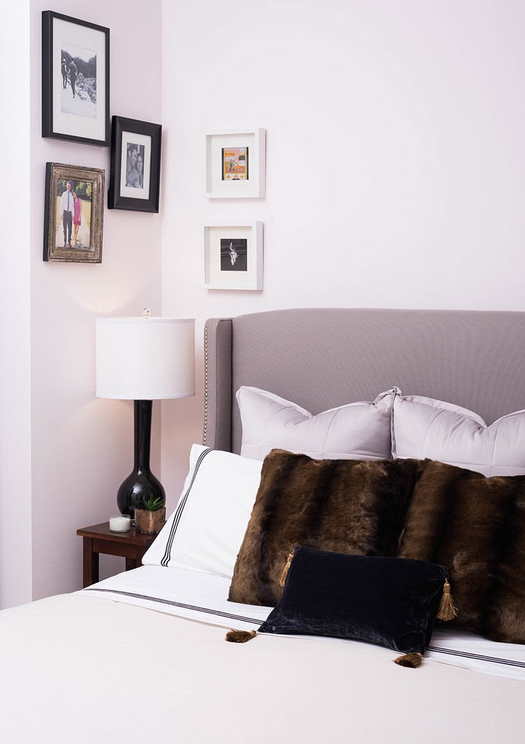 Master bedroom gallery wall  One Room Challenge  The Reveal Chic Master Bedroom  Posts Empty