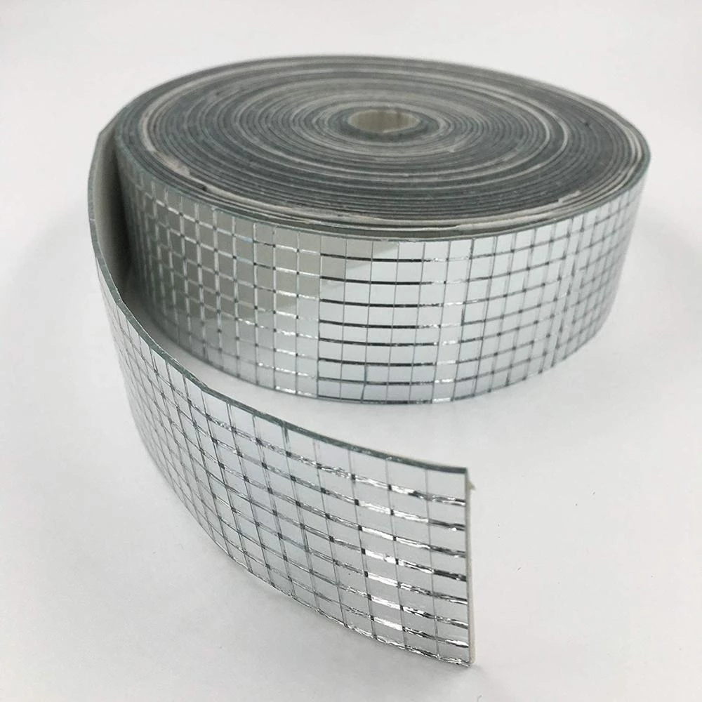 roll self adhesive real glass craft