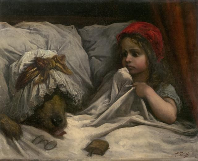 Little Red - Riding Hood ~ Gustave Doré