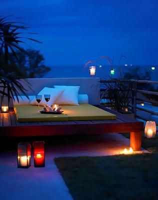 Any great home needs a deck like this to wile away romantic hours with someone special. <3