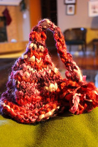 I knit my first baby beanie in 1 hr.