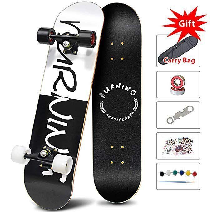 Easy Way Complete Skateboards Standard Skateboards For Beginners Starter Kids B Trends Ideas In 2020 Complete Skateboards Skateboard Kids Skateboarding