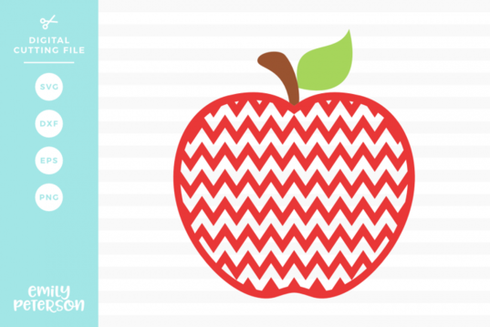 Free SVG Chevron Apple SVG DXF (With images) Free svg