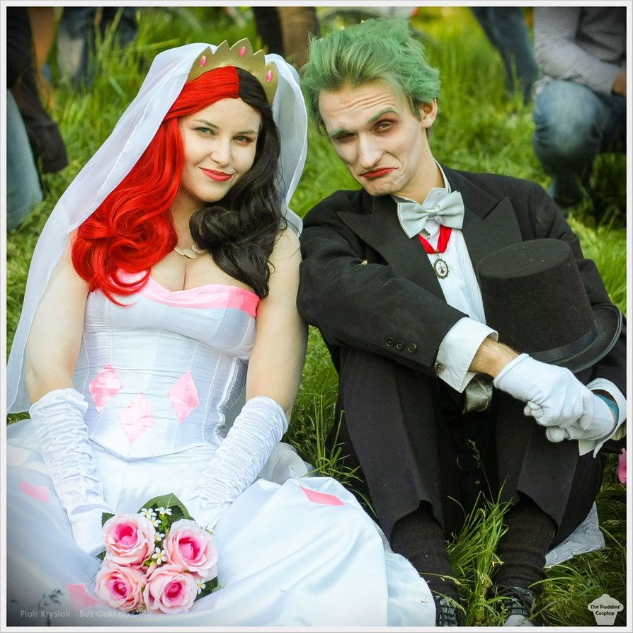 Harley Quinn And Joker Wedding Ver By The Puddins Cosplay