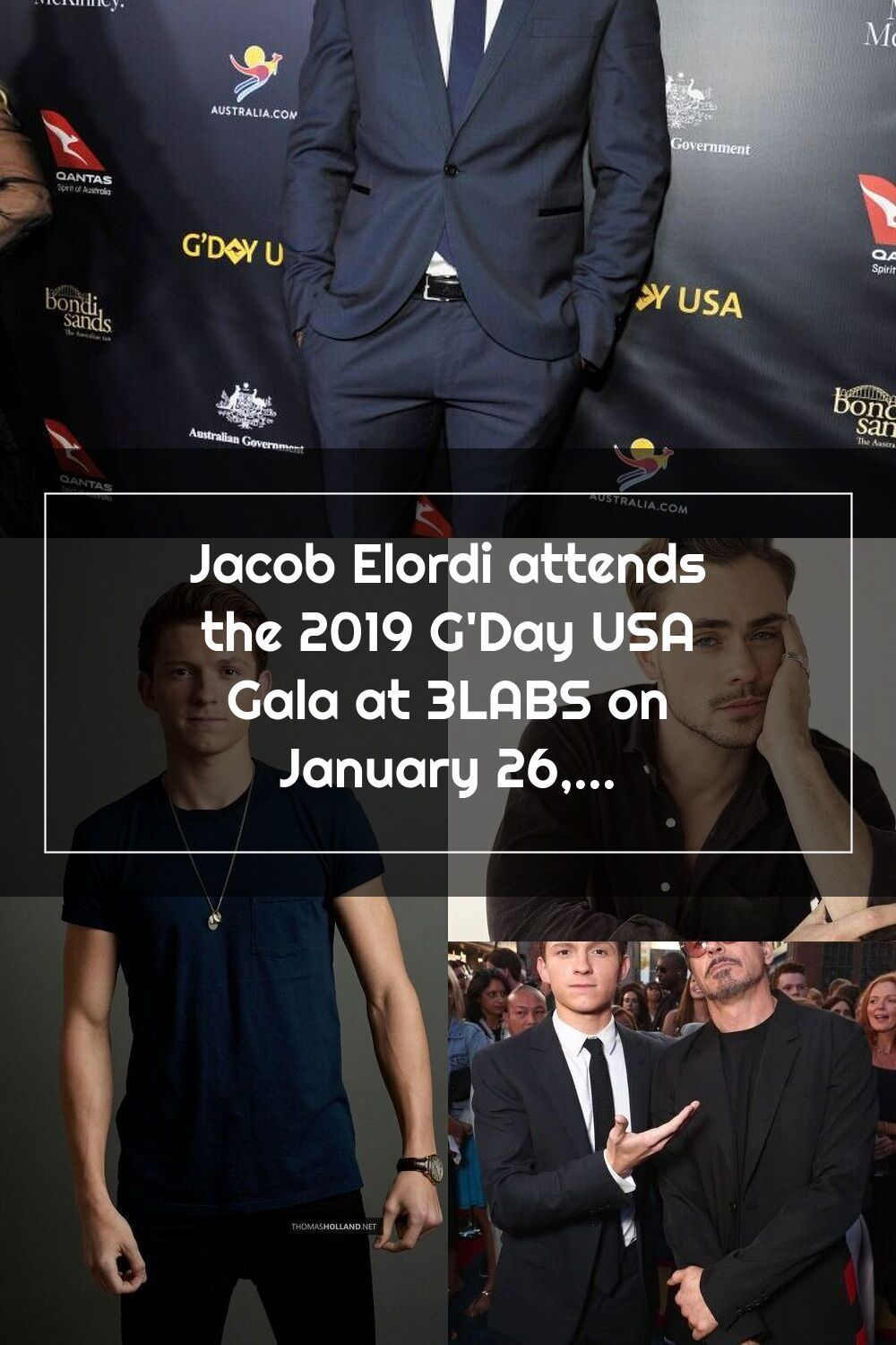 Culver City Ca January 26 Jacob Elordi Attends The 2019 G Day Usa Gala At 3labs On January 26 2019 In Culver City California Photo By John Sciulli Get 2020