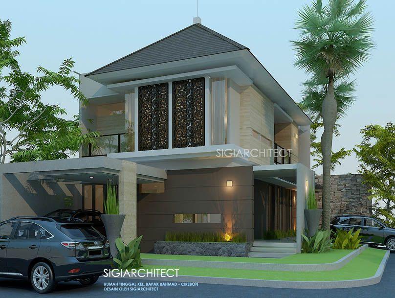 Model Rumah Hook Type 200 M2 Tropis Minimalis Arsitektur Rumah Modern Rumah Mewah