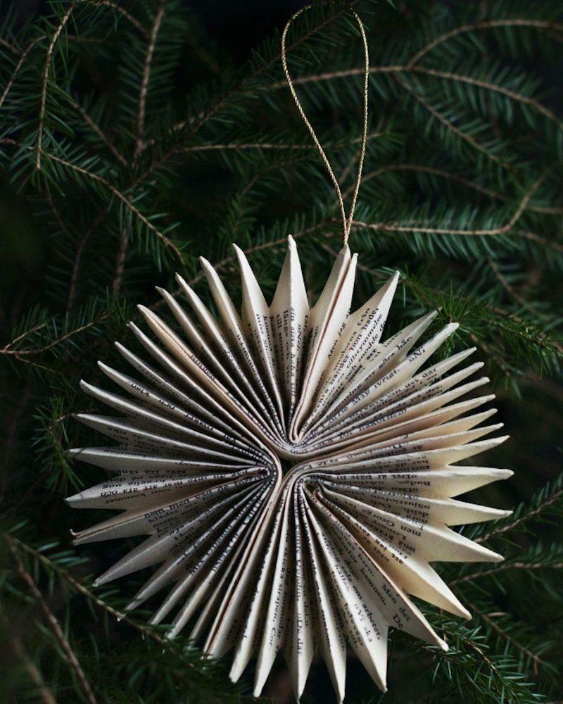 Fabriquer Sapin De Noel En Papier fabriquer des boules de noël en papier journal | couronnes