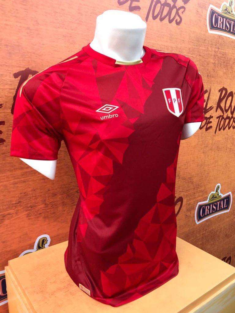 145a95b92a542 Perú 🇵🇪 2018 Remeras De Futbol