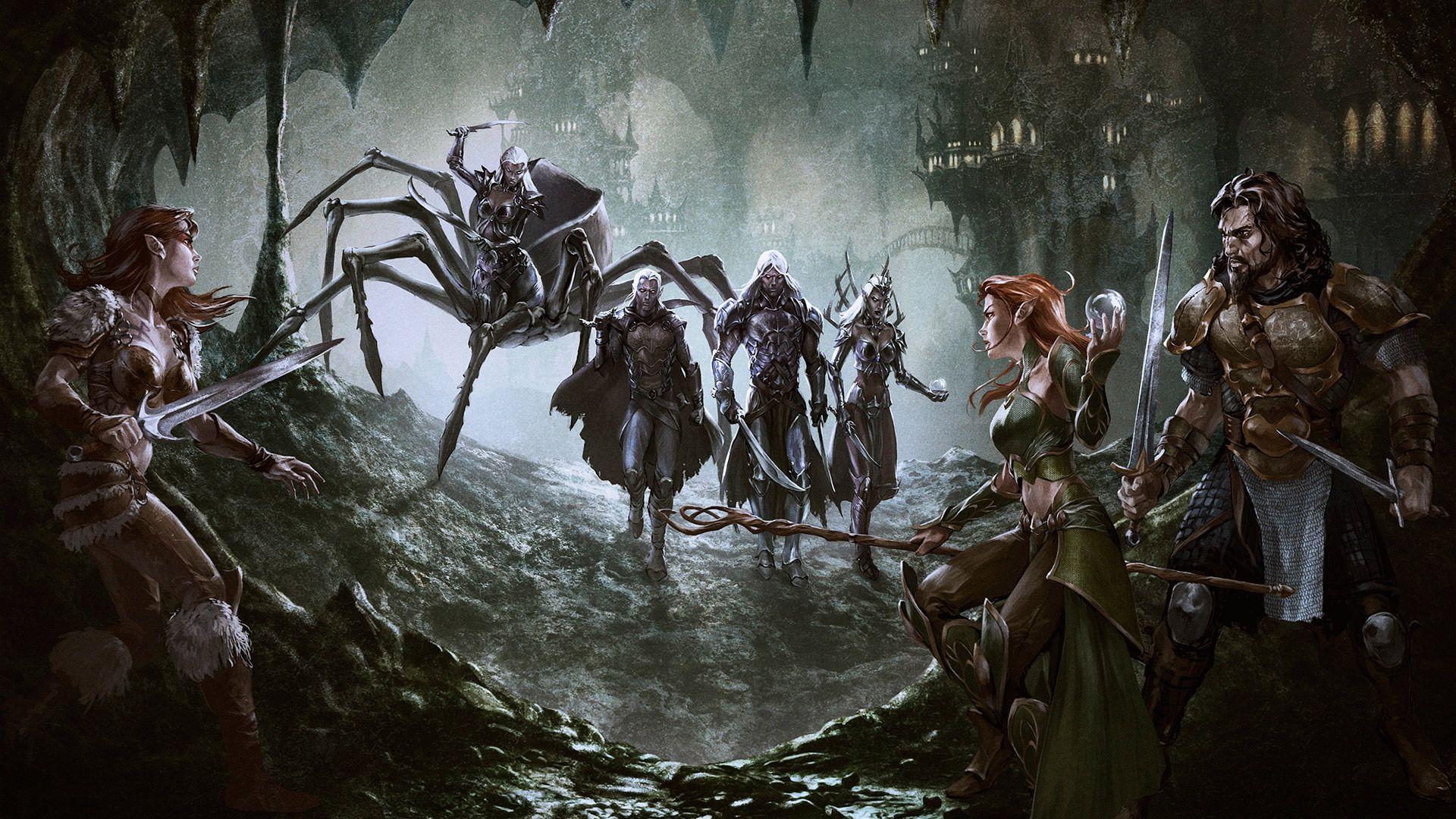 Pin By Patrick On Fantasy Art Scene Dungeons And Dragons Art Fantasy Art