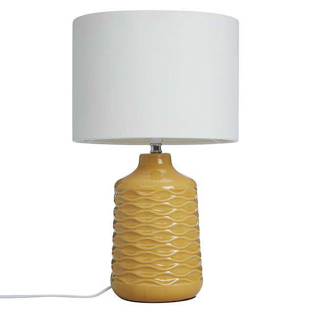 John Lewis Annie Table Lamp, Saffron | Pinterest