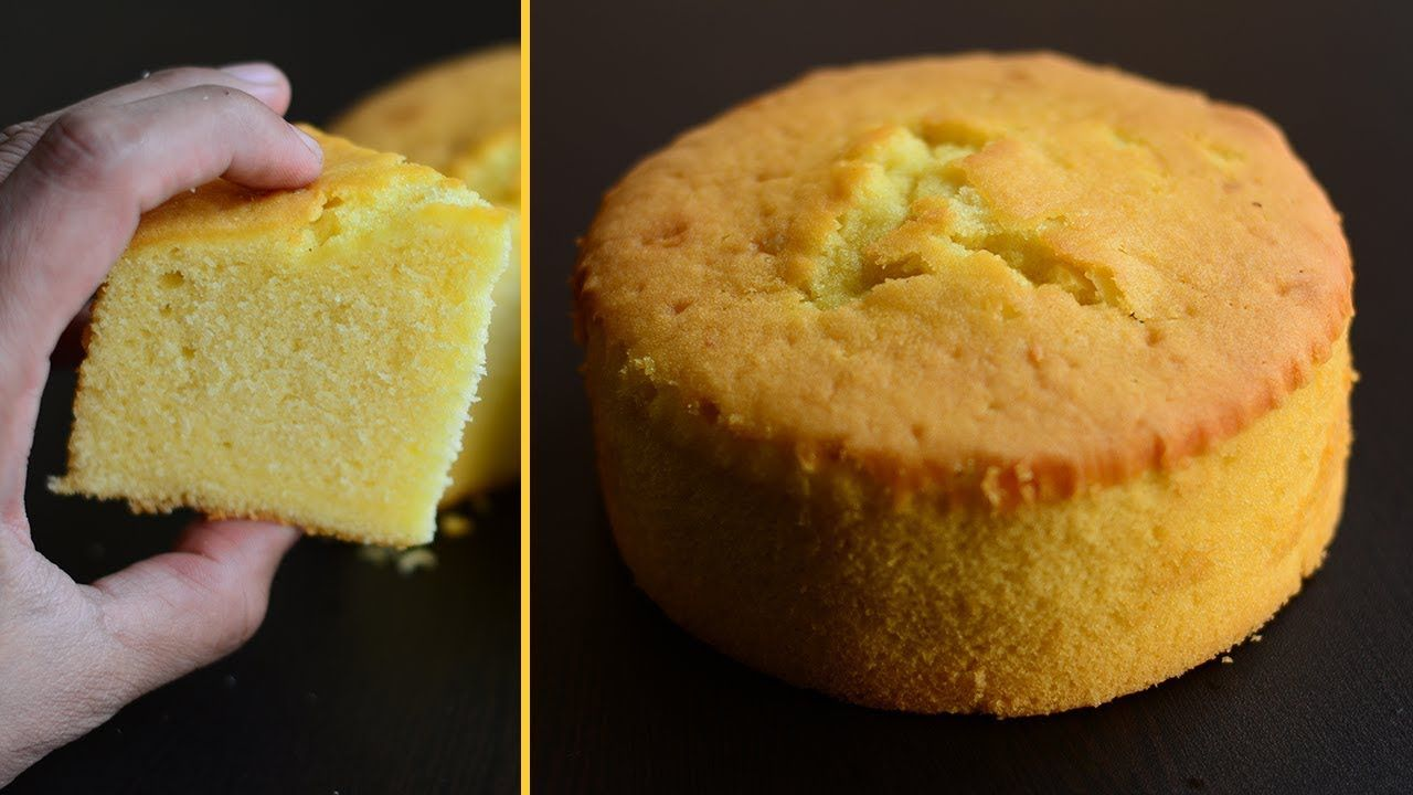 Fantastic Easy Sponge The Cake Recipe Happy Birthday Cake How Sponge Funny Birthday Cards Online Inifodamsfinfo