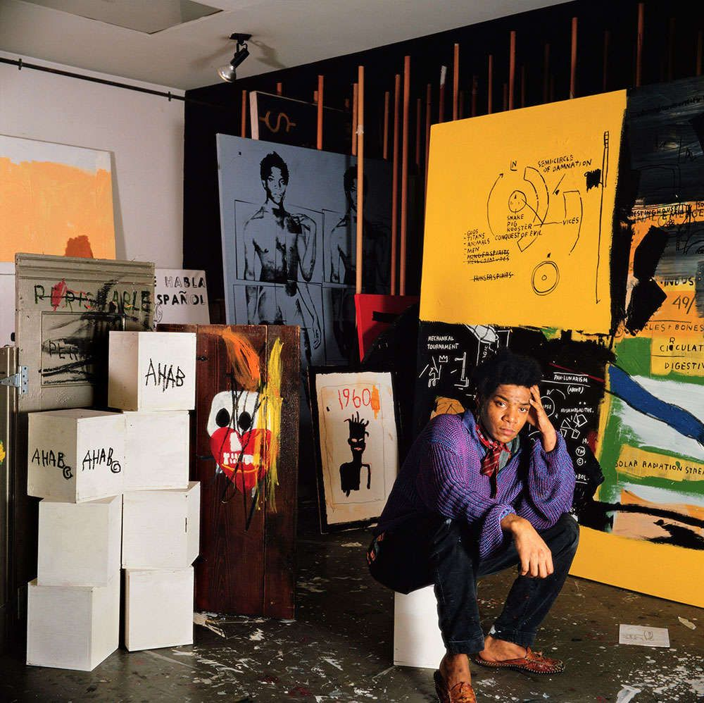 Mira una colección inédita de Jean-Michel Basquiat | The Creators Project