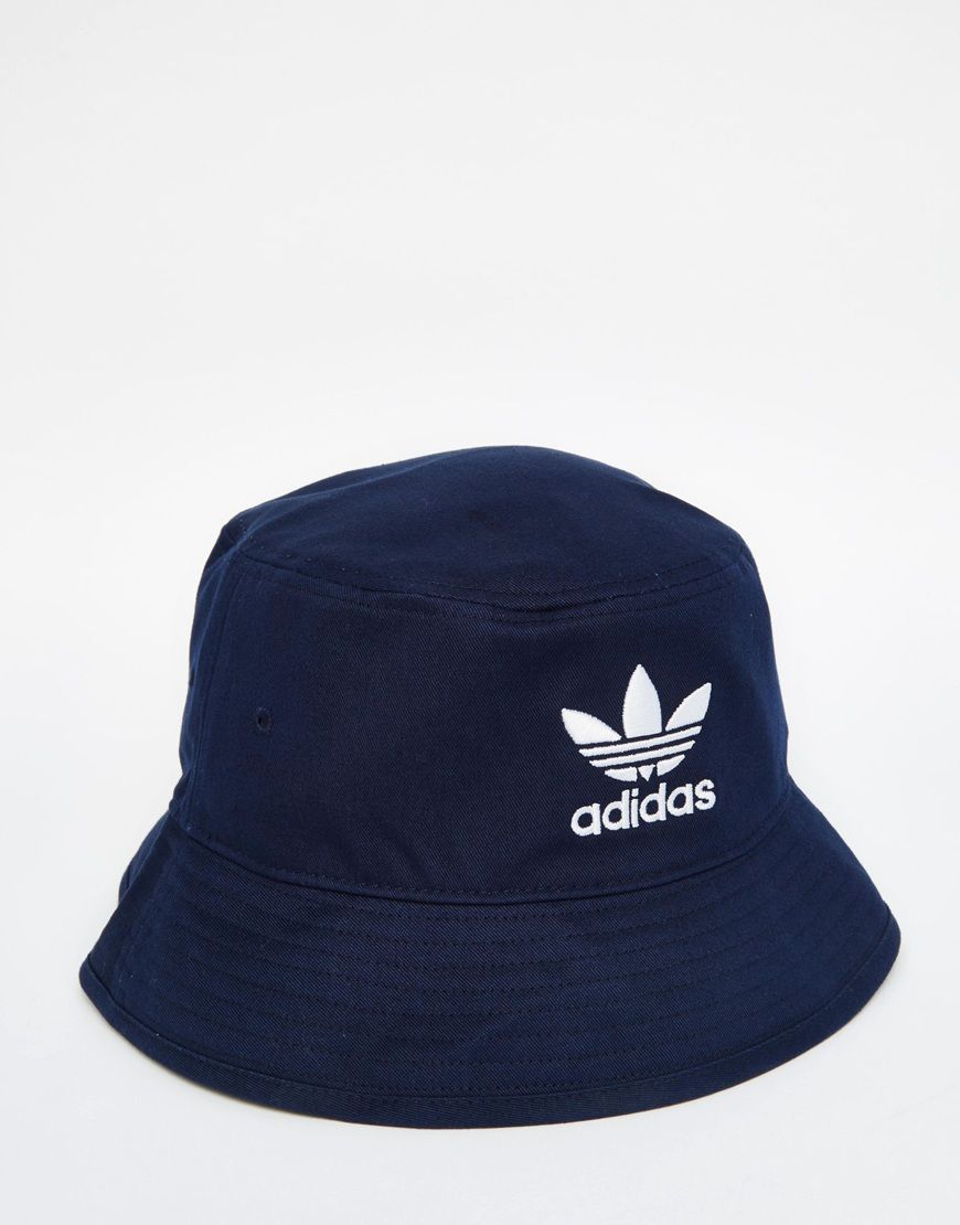 b25e724022e74 Image 1 of adidas Originals Bucket Hat Chapeu Pescador