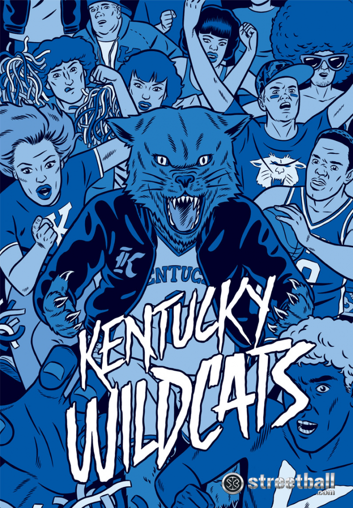 Kentucky Wildcats Desktop Wallpapers Themes For True Fans Wild Cats Kentucky Basketball Kentucky Wildcats