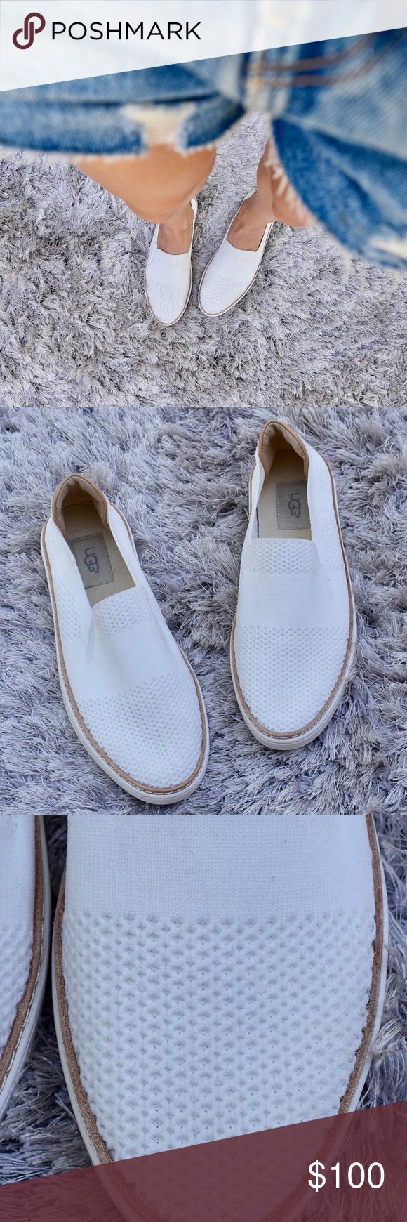 UGG) White Sammy Sneaker   7   Uggs