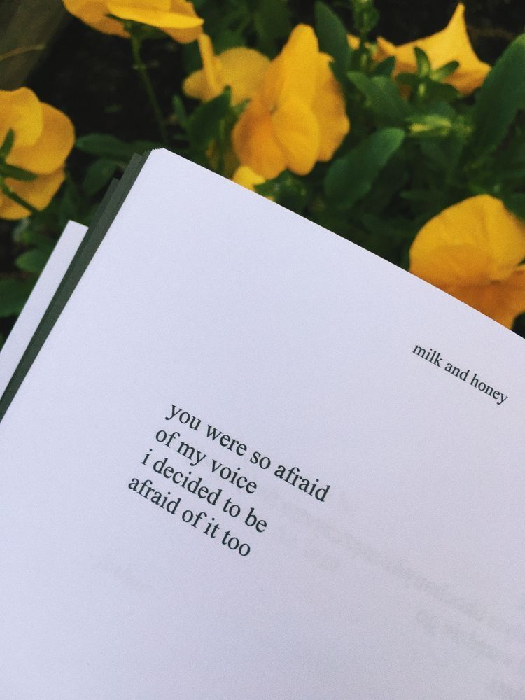 Pin By Destiny🌻💛 On Milk And Honey Poetry Quotes Milk