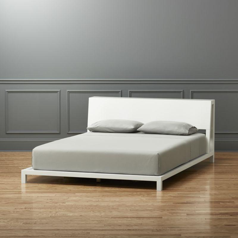 alpine white king bed | Pinterest