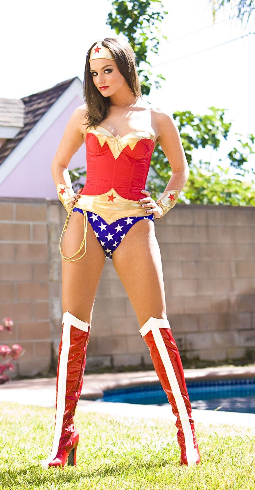 Tori black as wonder woman can