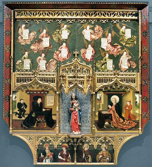 Retablo de los Gozos de Santa María, de Jorge Inglés en Madrid. Museo del Prado | Guía del Ocio