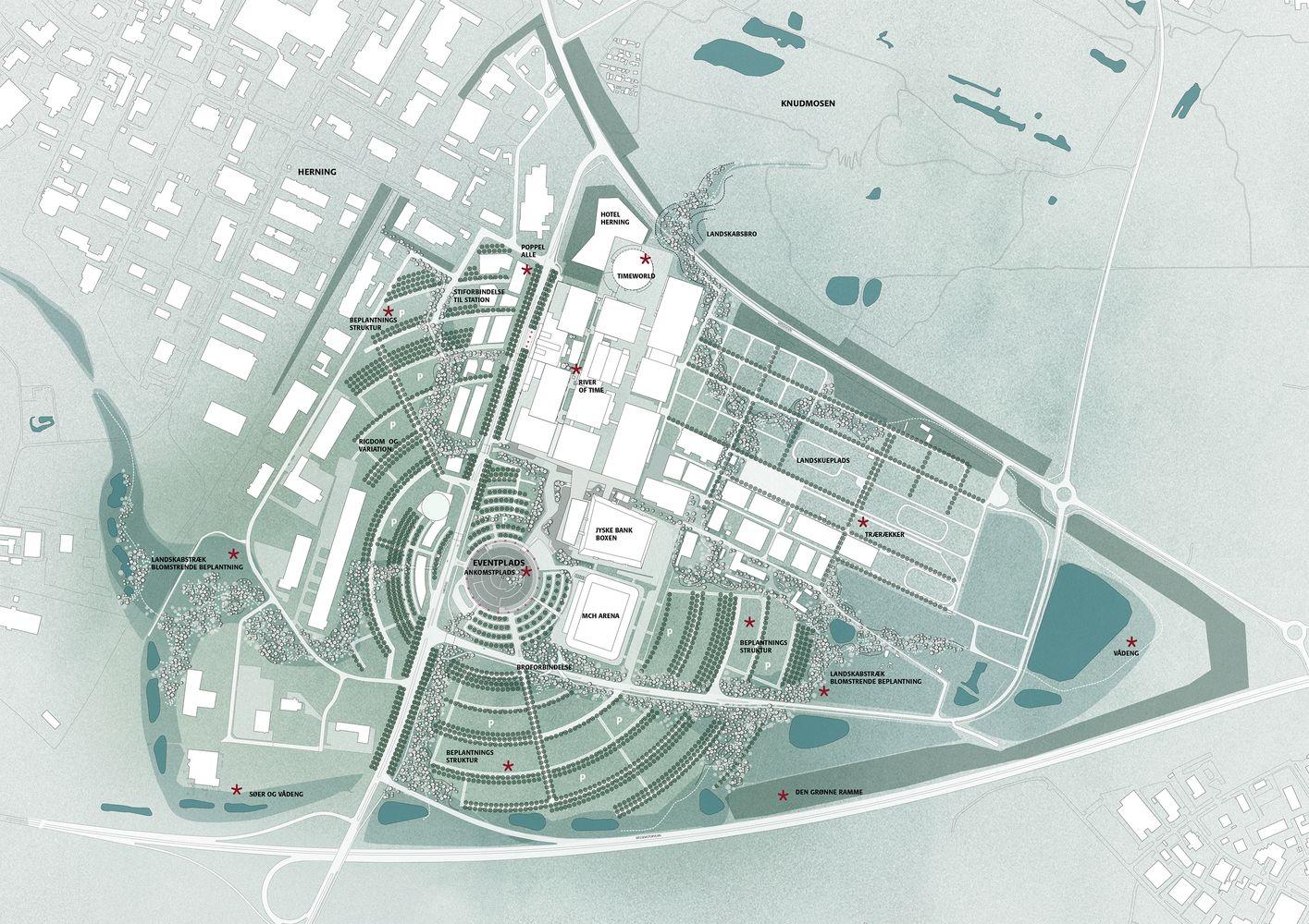 Gallery Of Mch Messecenter Herning Cubo Arkitekter 14 Arkitekter Skitse Billeder