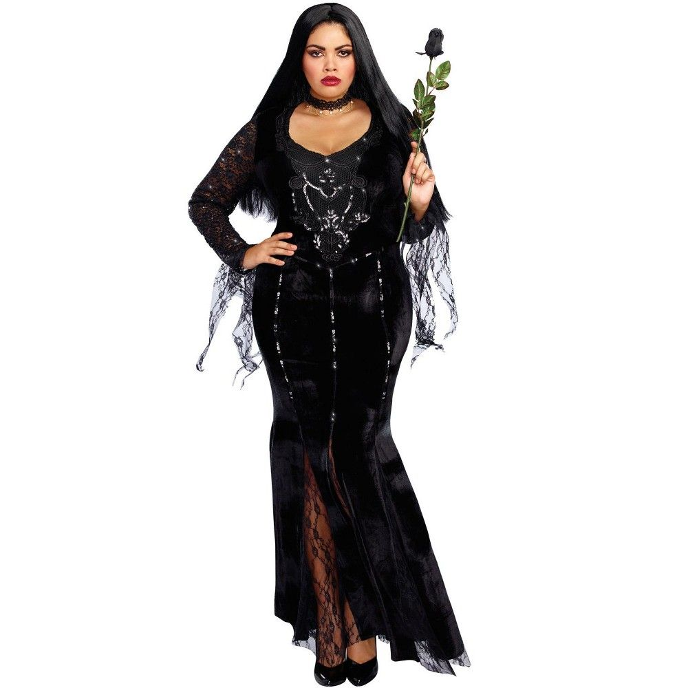 Costume Halloween 3xl.Dreamgirl Frightfully Beautiful Plus Size Costume 1xl Plus Size Costume Halloween Fancy Dress Beautiful Costumes