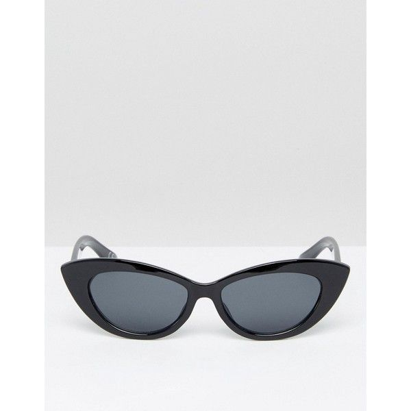 ASOS Small Pointy Cat Eye Sunglasses ($16) Liked On