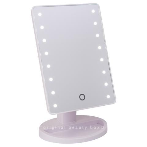 stand up vanity mirror with lights. White mini light up vanity mirror  Vanities Lights and Makeup