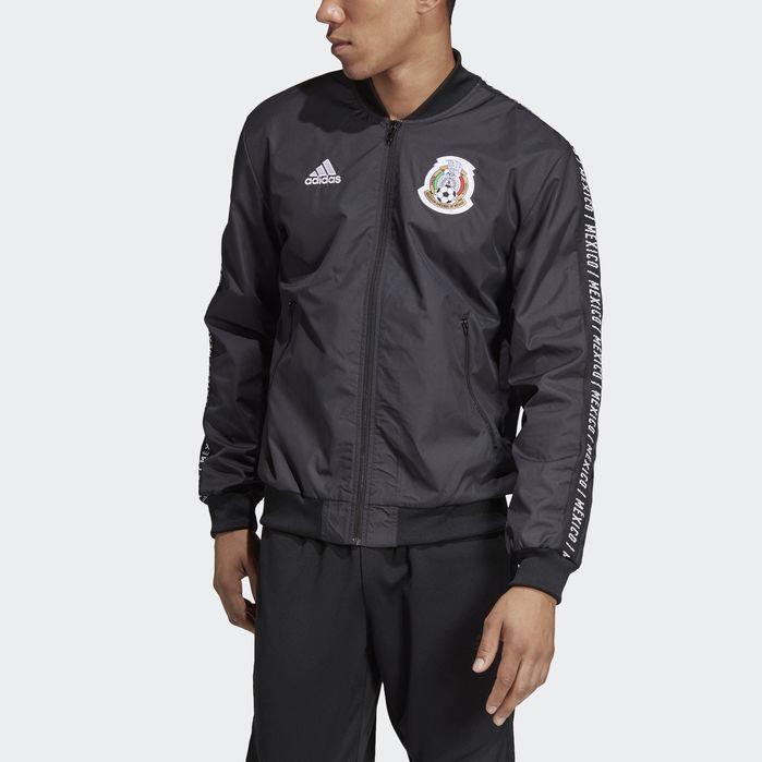 Mexico Anthem Jacket Black | Adidas men, Mens jackets