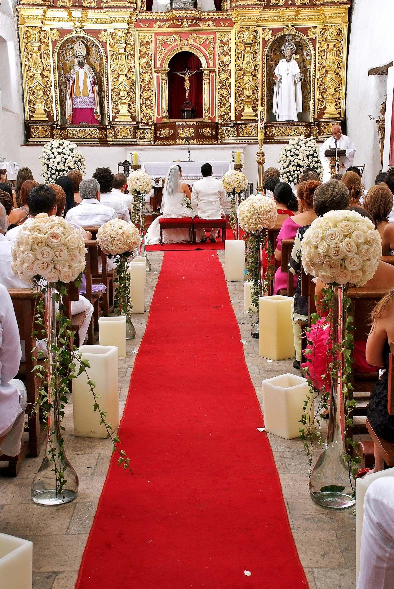 Decoracion Altar De Iglesia Para Matrimonio Buscar Con