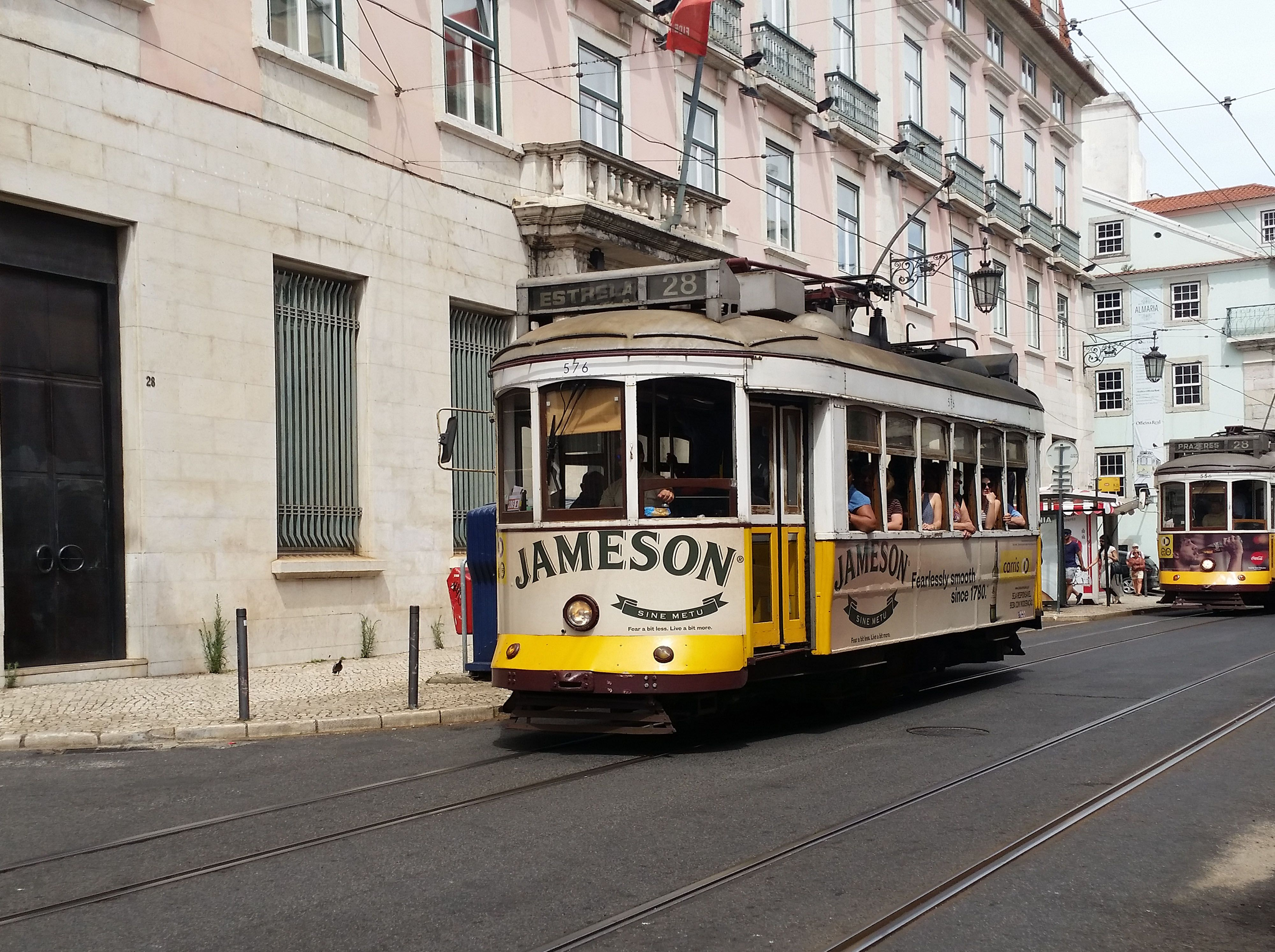 Tram in Lisboa. Best way to see the city.