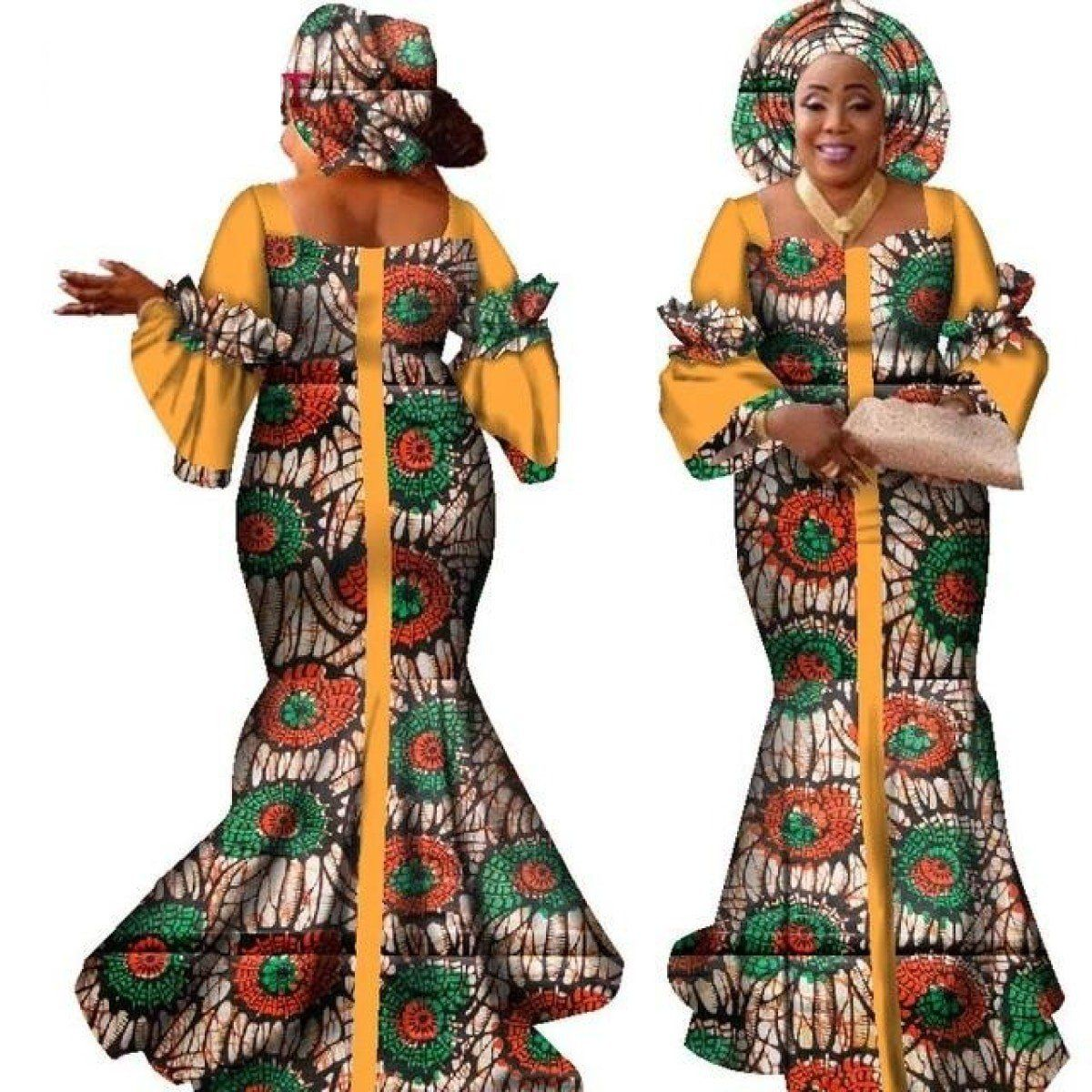 2018 Time-limited African Women Clothing Robe Africaine 2018 New Fashion  Style African Bazin Riche Women Plus Size Robes Xs-6xl  3047fc6d1