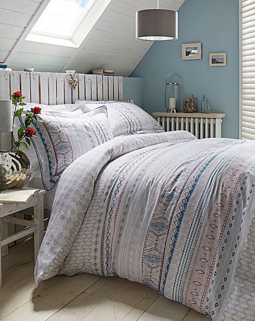 Lorraine Kelly Fairisle Duvet Cover Set | Fifty Plus | Bedroom ...