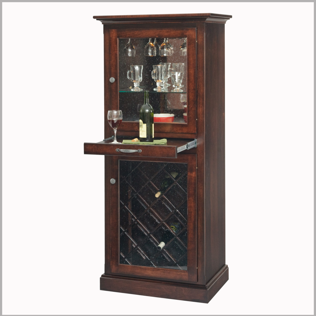 Amish Chic Wine Cabinet Amish Handcrafted From Lancaster Pa Wine Cabinets Wine Storage Cabinets Amish Furniture
