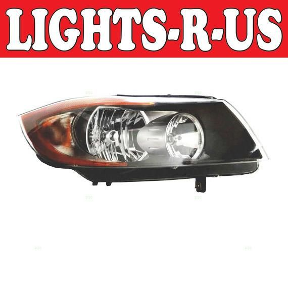 Lights R Us Bmw 3 Series Sedan Wagon Halogen Headlight Rh Right Passenger 2006 2007 2008 06 07 08 Buick Lesabre Acura Acura Tl