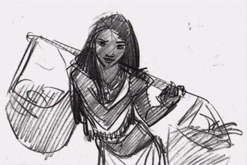Pocahontas, une Légende Indienne [Walt Disney - 1995] - Page 13 E0e1e00f5d4de03c6d35d378716edc2b