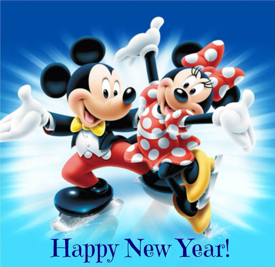 Mickey & Minnie Happy New Year | Minnie Loves Mickey ...