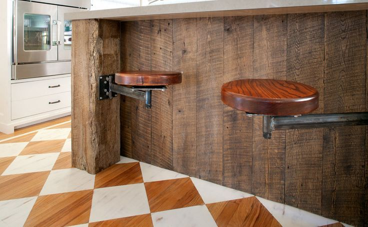 Magnificent Wall Mounted Bar Stools Google Search Reclaimed Wood Onthecornerstone Fun Painted Chair Ideas Images Onthecornerstoneorg