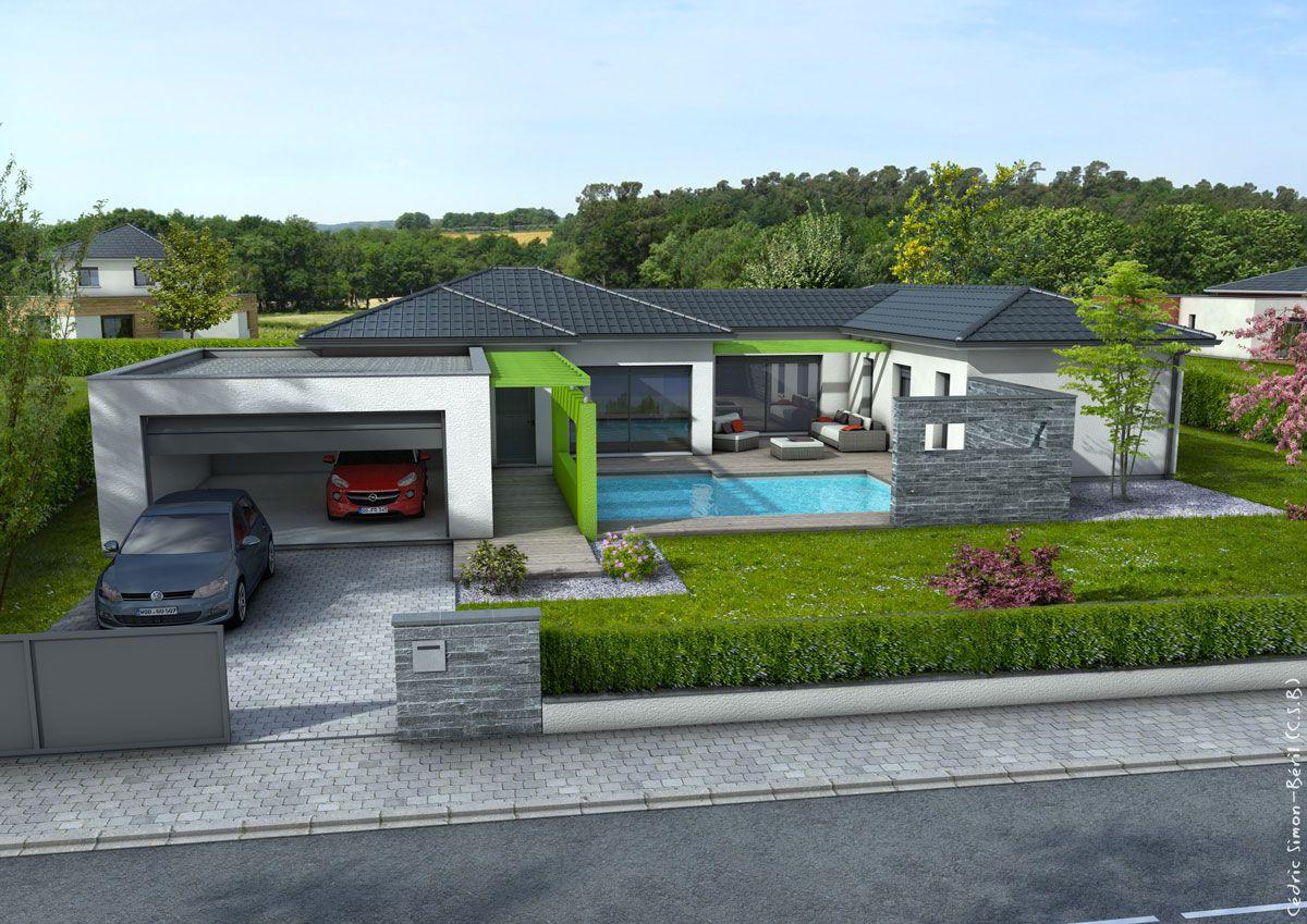 R sultat de recherche d 39 images pour maison ann es 80 for Modele interieur maison moderne
