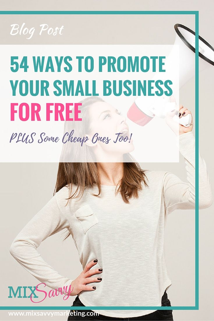 Promote Business For Free  Business  Small Business-1853