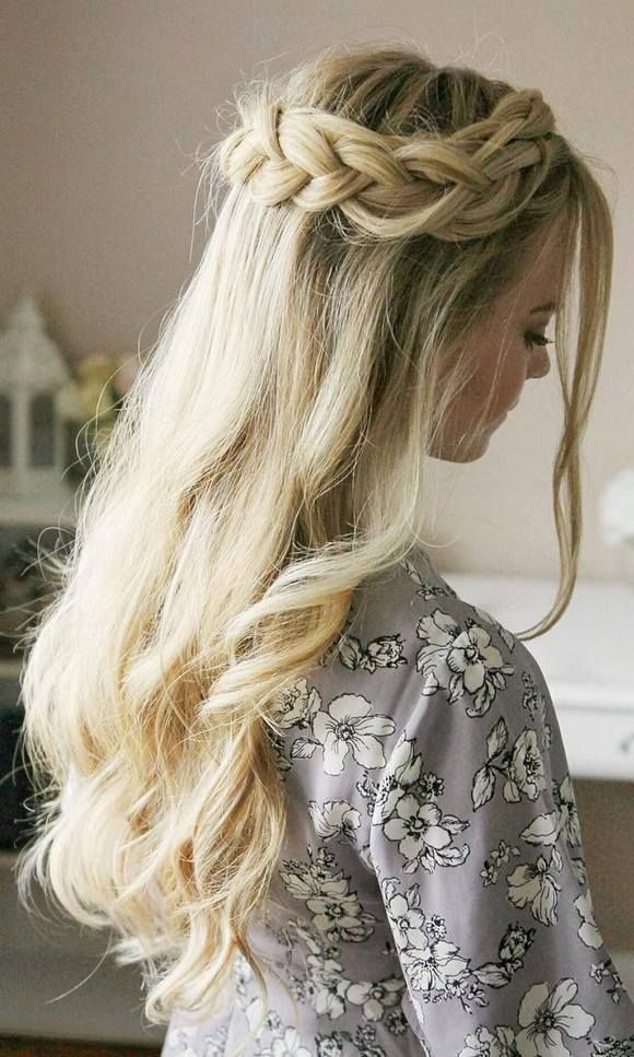 Trendy Long Wedding Prom Hairstyles Try