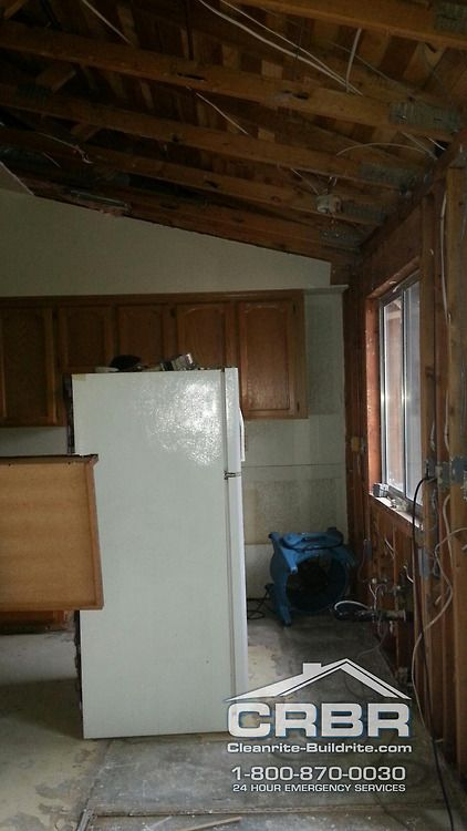 """Here is a #kitchen that some of our #fire and #watertechnicians have been working hard on. It's a rough job, but someone has got to do it. """"LIKE"""" If you are grateful for all of our technicians, firefighters, police and others who help restore your home and life after a #disaster.  Cleanrite-Buildrite is a full-service #damage and #restorationcompany specializing in #Wind , #Smoke , #Mold , #Fire & #Waterrestoration and #carpetcleaning company with our main headquarters in #ChicoCA"""