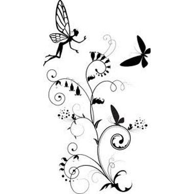tatouage f e et papillon tatoo pinterest image tatouage tatouage f e et tatouages. Black Bedroom Furniture Sets. Home Design Ideas