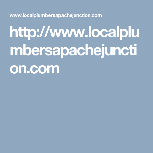 For Over 10 Years Local Apache Junction Plumber Service Has Provided Residential Plumbing Repair Services Suc Sewer Line Repair Plumbing Repair Local Plumbers