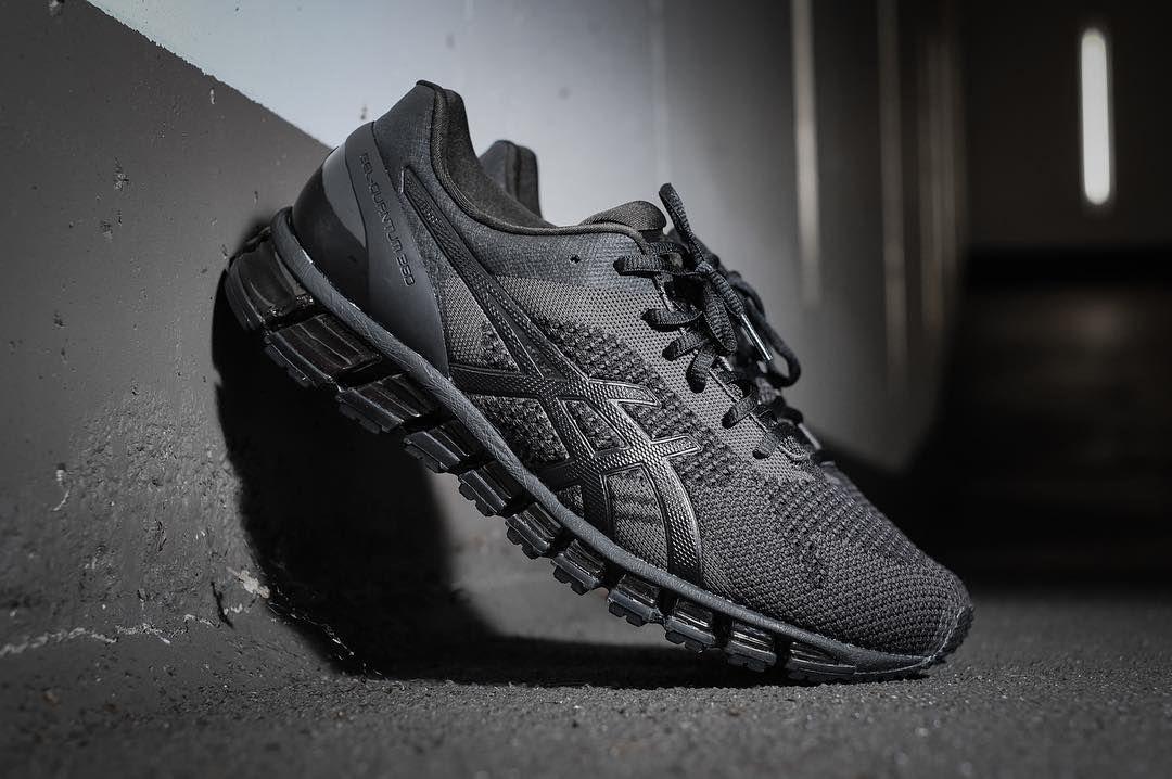 Sneakers, Asics, All black sneakers