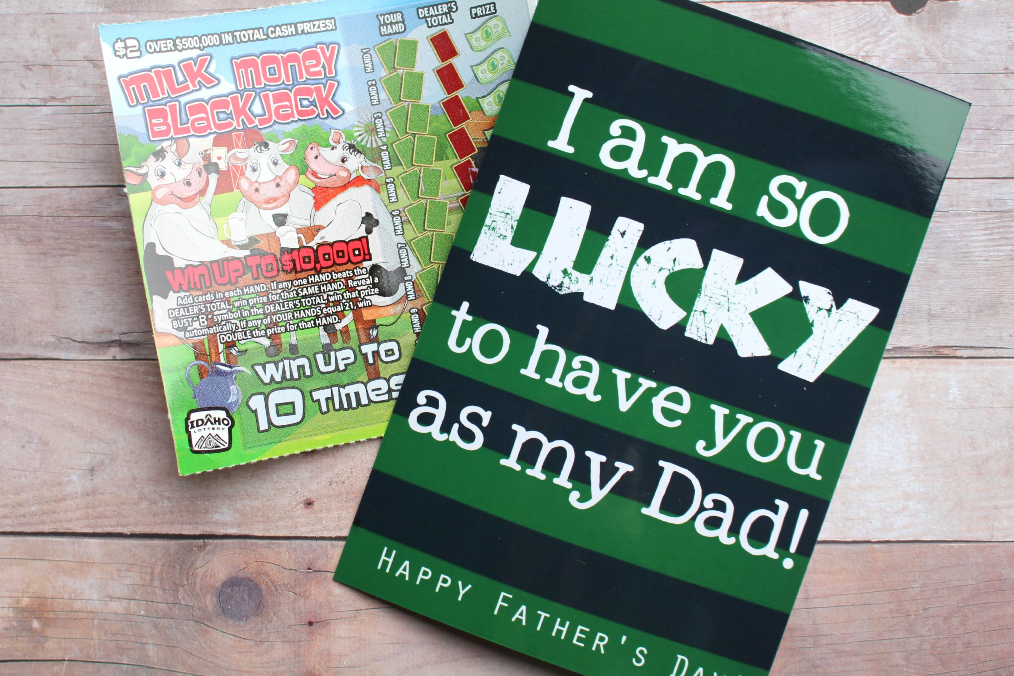 image about Lucky to Have a Dad Like You Printable known as Fortuitous fathers working day printable Reward suggestions Fathers working day