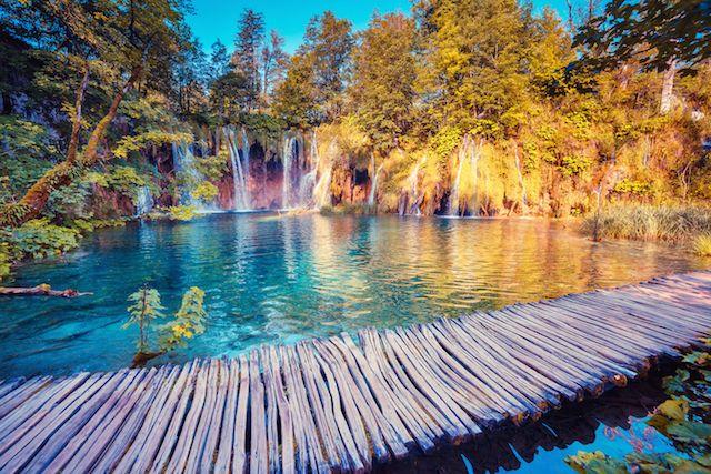 Plitvice, Croacia || Viatur.com/tours_por_europa.html