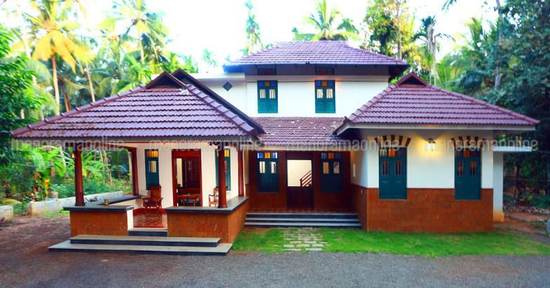 Traditional House Front View